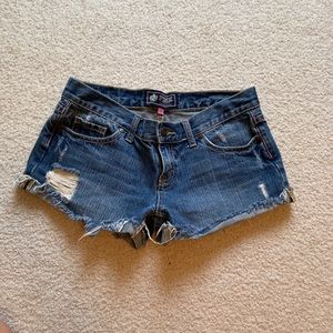 PINK VS jean shorts size 2